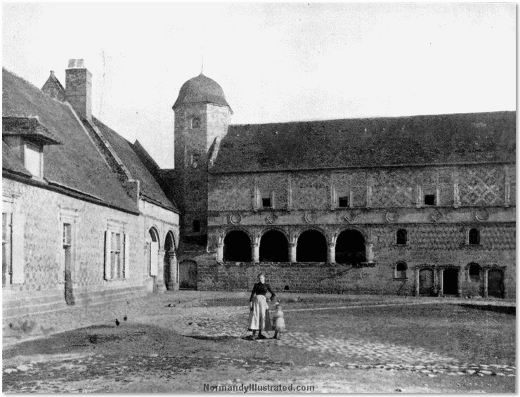 Old Normandy Farmhouses